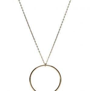 Lola's Love Hoop Pearl Necklace kaulakoru