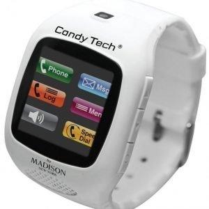 Madison New York Candy Tech Matkapuhelinkello Valkoinen