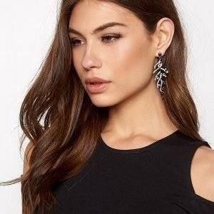 Make Way Lili Earrings Black/silver