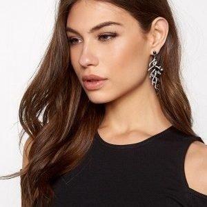 Make Way Lili Earrings Black/silver