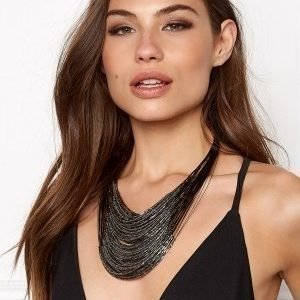 Make Way Otilia Necklace BlackGrey