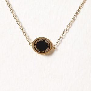 Marc Jacobs Enamel Logo Disc Bracelet Rannekoru Oro