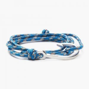 Miansai Silver Tone Hook Rope