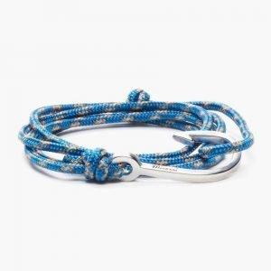 Miansai Silver Tone Hook Rope