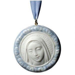 Nao Protective Mary Medaljong Kaulakoru Sininen