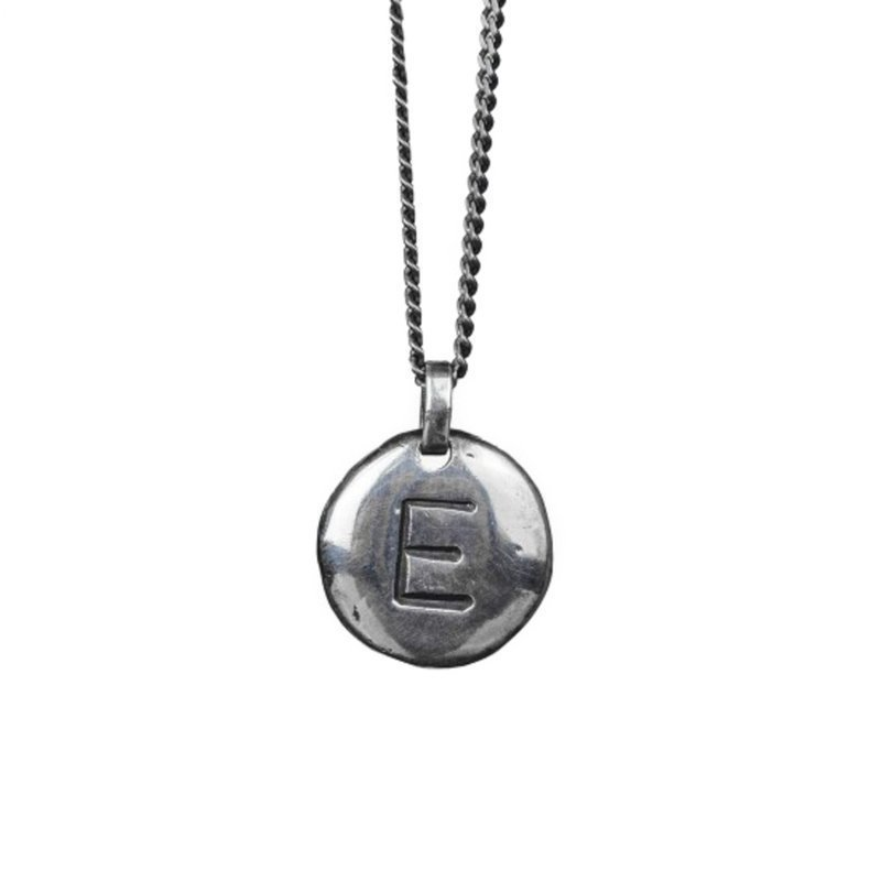 Nic & Friends Coin E Sterling Silver