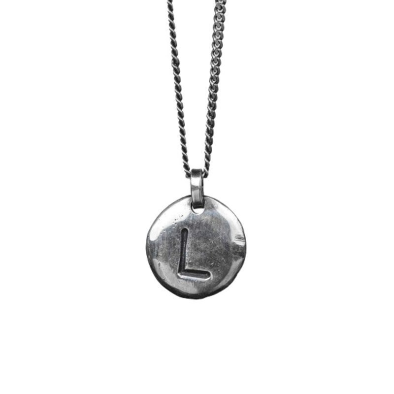 Nic & Friends Coin L Sterling Silver