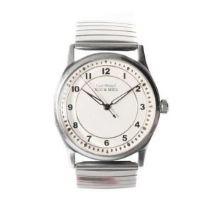 Nic & Mel Wristwatch Lee Metal Steel