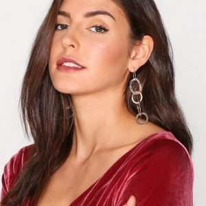 Nly Accessories Chain Drop Earrings Korvakorut Rose Gold