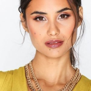 Nly Accessories Curb High Collar Necklace Kaulakoru Kulta