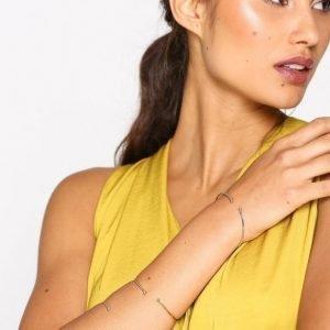 Nly Accessories Fine Open Bangle Set Rannekoru Multicolor