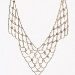 Nly Accessories Pretty Coin Necklace Kaulakoru Kulta
