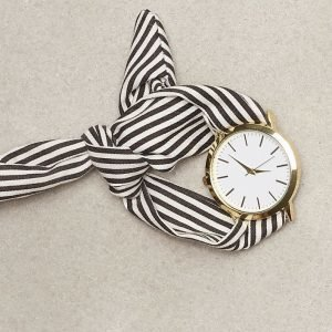 Nly Accessories Scarf Watch Kello Raidallinen