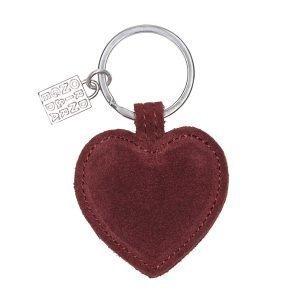 Ordning & Reda Heart Avaimenperä Mokka Cranberry