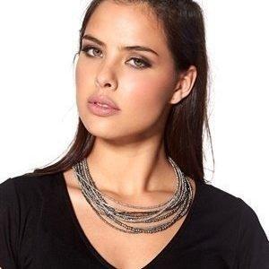 Pearls for Girls Kaulakoru 50 cm Musta/Harmaa