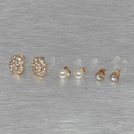 Pieces Korvakorut Kullanvärinen