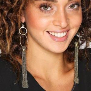 Pieces Pclilia Earrings D2d Korvakorut Kulta