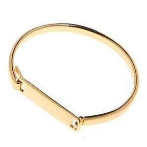 Pieces Volva Bracelet Gold Colour