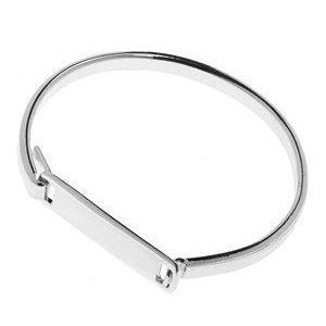 Pieces Volva Bracelet Silver Colour