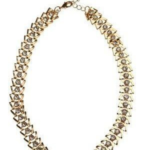 Pixie & Diamond Ladies Choker Black/Gold