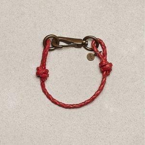 Polo Ralph Lauren Brasshook Wristband Rannekoru Red