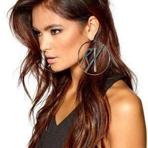 RX Halo Earrings Hopeanvärinen