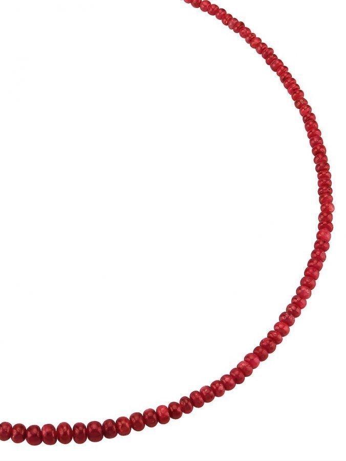 Rubiinikaulakoru Punainen