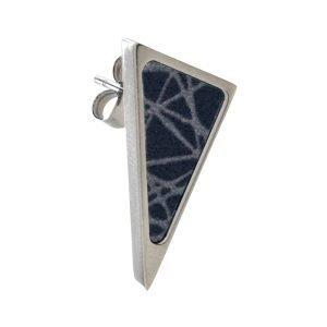 Sägen Virrvarr Triangle Small Dark Korvakoru