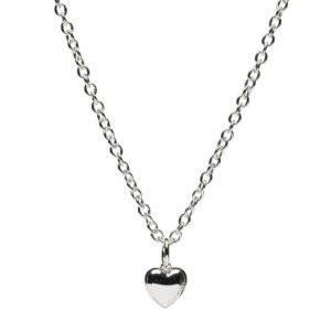 SNÖ of Sweden Card Pendant Neck 42 Heart kaulakoru