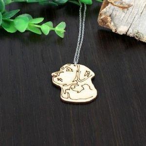 Samas Design Labradorinnoutajan Kasvot Kaulakoru