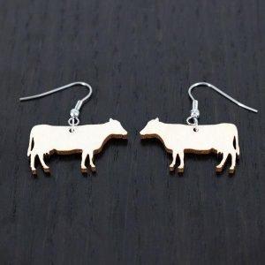 Samas Design Maatilan Lehmä Korvakorut