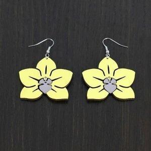 Samas Design Onnen Orkidea Korvakorut Loisto