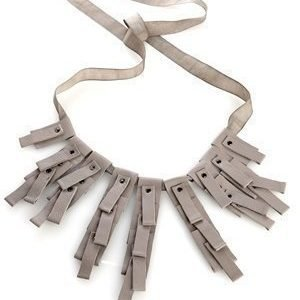 Selected Femme Christa Necklace Warm Stone