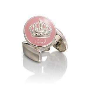Skultuna Crown Kalvosinnapit Hopea Lavender Pink