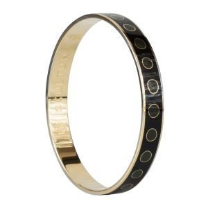 Skultuna Dot Lane Bangle Rannekoru S Musta 9 Mm