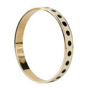 Skultuna Dot Lane Bangle Rannekoru S Valkoinen 9 Mm