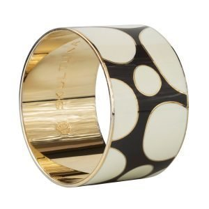 Skultuna Dot Pattern Bangle Rannekoru M Tummanharmaa 40 Mm