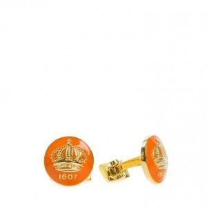 Skultuna The Crown Kalvosinnapit Oranssi