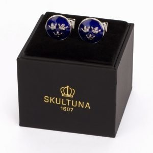 Skultuna The Kingdom Kalvosinnapit Silver/Blue