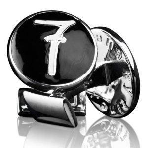 Skultuna The Lino Leluzzi Cuff Links Black