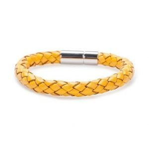 Skultuna The Statement Steel/Yellow Bracelet