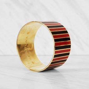 Skultuna The Stripe Rannekoru M Sininen / Punainen
