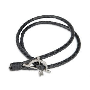 Smash 2-Pack Arrow Bracelet Black