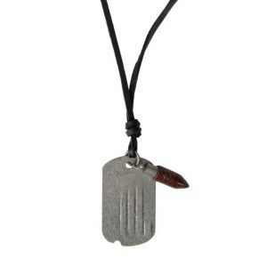 Smash Bullet Necklace Black