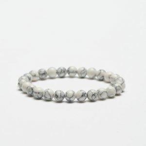 Smash Marble Bracelet White