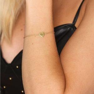 Sophie By Sophie Heart Bracelet Rannekoru Kulta