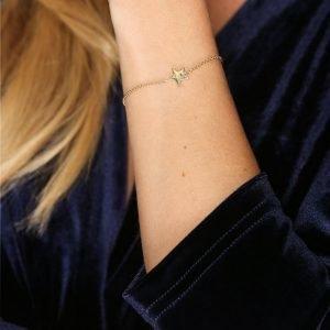 Sophie By Sophie Star Bracelet Rannekoru Kulta