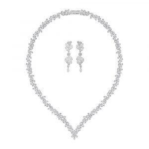 Swarovski Diapason V Korusetti Rhodium / Kristalli