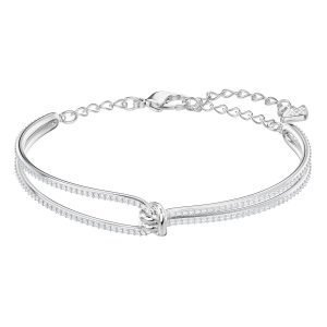 Swarovski Lifelong Rannerengas Crystal / Rhodium Shiny M