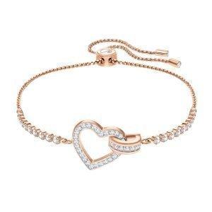 Swarovski Lovely Rannekoru Crystal Rose Gold Shiny M
